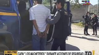 Tres importantes capturas durante Estado de Prevención en Escuintla