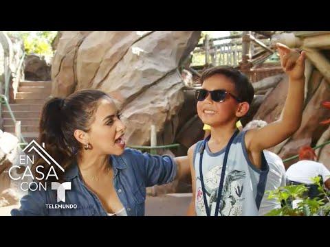 Ana Jurka celebra el inicio del verano junto a sus hijos en Universal Studios en Orlando | Telemundo