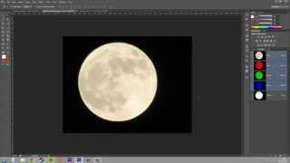 Photoshop CS6 Tutorial - 149 - Moving and Combining Channel Masks