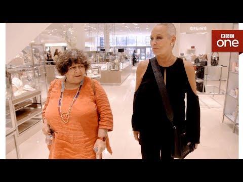 Ex-Playboy Bunny Candace takes Miriam shopping - Miriam's Big American Adventure  -  BBC One