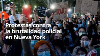 Continúan las protestas contra la brutalidad policial en Nueva York