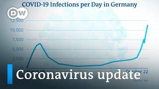 Germany tops 10,000 deaths +++ France surpasses 1 million cases   Coronavirus update