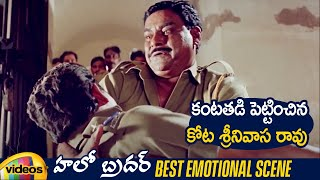 Best Emotional Scene | Hello Brother Telugu Comedy Movie | Nagarjuna | Soundarya | Ramya Krishna - MANGOVIDEOS