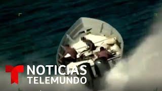 Aumenta el tráfico marítimo de migrantes y drogas   Noticias Telemundo