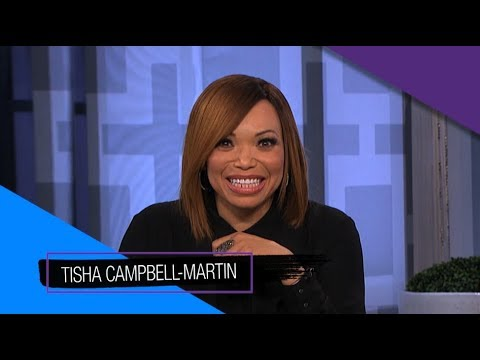connectYoutube - Tuesday on 'The Real': Tisha Campbell-Martin