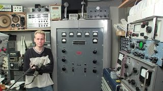 Standing Inside a Broadcast Transmitter While it's ON!