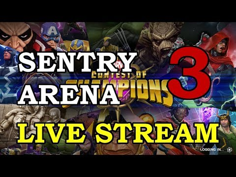 connectYoutube - Sentry Arena - Part 3   Marvel Contest of Champions Live Stream