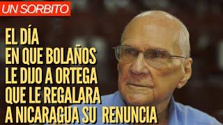 CAFE CON VOZ | Bolaños a Ortega: Regalale a Nicaragua tu renuncia