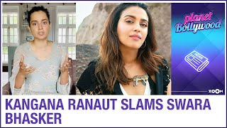 Kangana Ranaut's team LASHES OUT at Swara Bhasker for supporting Karan Johar amidst nepotism debate - ZOOMDEKHO