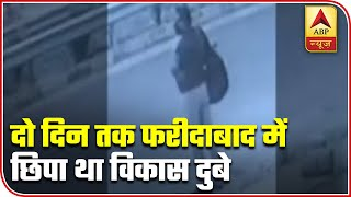 Vikas Dubey was hiding in Faridabad for two days - ABPNEWSTV