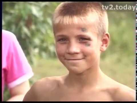 Лагерь для юных спасателей. Архив ТВ2. 2005 год