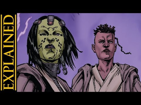 Mace Windu's Jedi Master - Star Wars Canon vs Legends