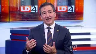 Los Desayunos 24 Horas, Pedro Freile, candidato presidencial