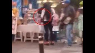 Graban momento de un asalto en el barrio La Reformita
