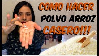 COMO HACER POLVO TRANSLUCIDO CASERO #cuarentena