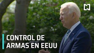 Órdenes ejecutivas de Joe Biden para control de armas - Sábados de Foro