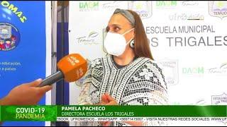 Retorno a clases presenciales en establecimientos educacionales de Temuco   ESPECIAL COVID-19