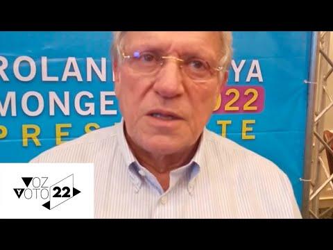Rolando Araya sobre su equipo de campaña