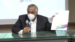 Presidente Lic luisin Mejia habla donacion prueba rapida covid-19