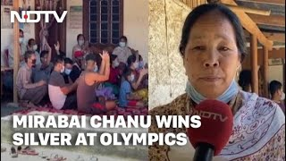 Tokyo Games | Watch: First Reaction From Mirabai Chanu's Family, Neighbours In Manipur On Her Silver - NDTV