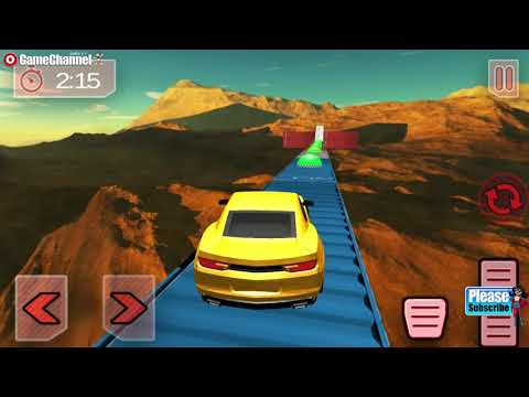 Modern Impossible Tracks Car Stunts Scary Drive / Android Gameplay Video