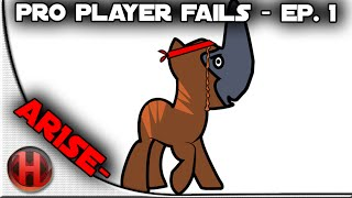 Dota 2 - Pro Player Fails Ep. 1 | Ar1sE-
