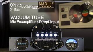 """I've Been Waiting All My Life"" featuring the Manley CORE® Reference Channel Strip"