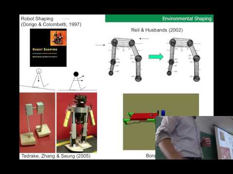 Lecture 24 of Evolutionary Robotics course at UVM (filmed Thurs Apr 27, 2017)