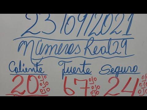 NUMEROS PARA HOY 23/09/2021 DE SEPTIEMBRE PARA TODAS LAS LOTERIAS(VEN GANA SEGURO)