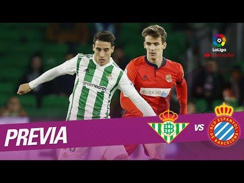 Previa Real Betis vs RCD Espanyol