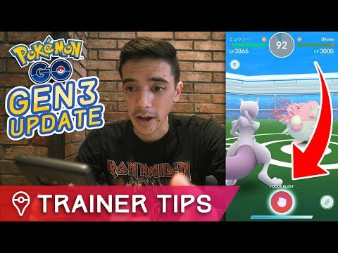 connectYoutube - POKÉMON GO UPDATE IS LIVE - BATTLE UPDATE, NEW ITEMS, GEN 3 MOVES + MORE