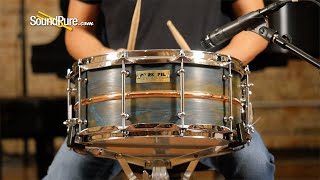 Pork Pie 6.5x14 Copper Patina Snare Drum—Quick 'n' Dirty