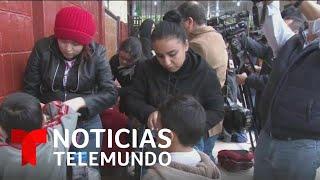 México da inicio a programa 'mochila segura' tras tiroteo en colegio Cervantes | Noticias Telemundo