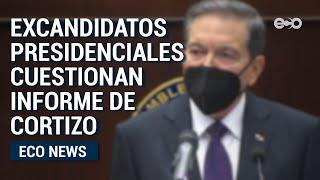 Excandidatos presidenciales  panameños cuestionan informe de Cortizo | ECO News