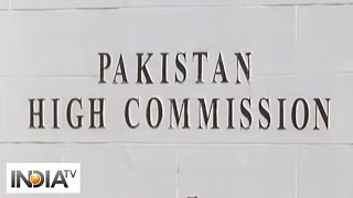 Two Pakistan High Commission officials arrested on espionage charges, asked to leave India within 2 - INDIATV