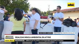 Realizan minga ambiental en Atyrá