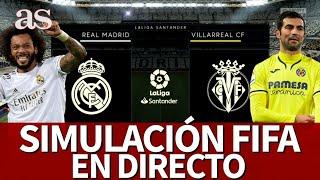 REAL MADRID vs. VILLARREAL | FIFA 20: simulación del partido de la Jornada 37 de LaLiga | Diario AS