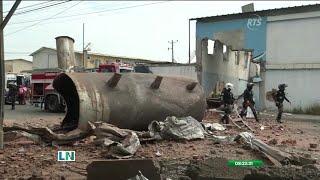 Se registró una explosión dentro de una fábrica atunera