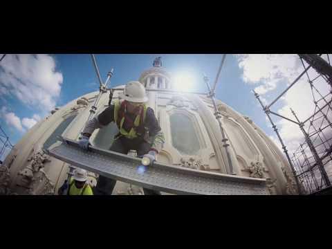 connectYoutube - Dome Restoration: A Mega Team Effort