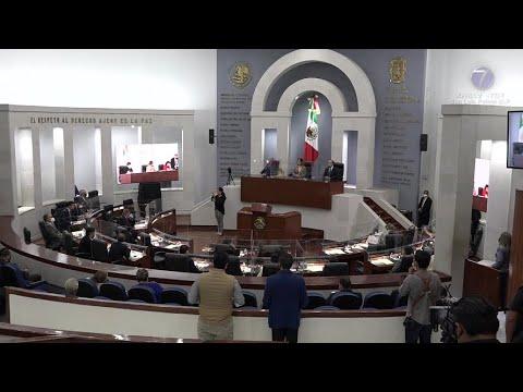 LXII Legislatura rindió su tercer y último informe de actividades.