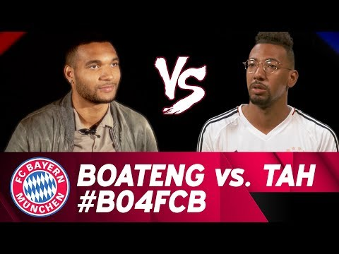 Jérôme Boateng vs. Jonathan Tah | Interviewduell | DFB-Pokal-Halbfinale #B04FCB