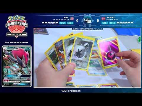 connectYoutube - 2018 Pokémon Oceania International Championships: TCG Masters Finals