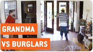 Grandma Scares Burglars Out Of House | Caught in the Act
