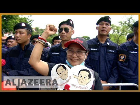 🇹🇭 Thailand cracks down on protests against military rule | Al Jazeera English