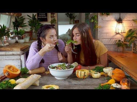 connectYoutube - Healthy Harvest Salad Recipe!