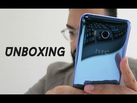 FINALLY UNBOXING THE HTC U11 !!!