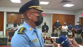 Policías son certificados en sanitización para prevenir el cierre de cuarteles