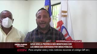 Azua será la provincia más beneficiada con las obras sorteada por Obras Pública
