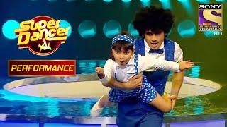 "Vaishnavi's Jaw Dropping Performance On ""Aajkal Paon"" Surprises Rekha Ji | Super Dancer Chapter 2 - SETINDIA"