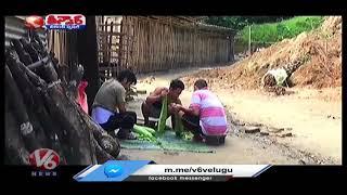 Arunachal Pradesh Man Deepak Nabam Gives Shelter to Homeless | V6 Teenmaar News - V6NEWSTELUGU